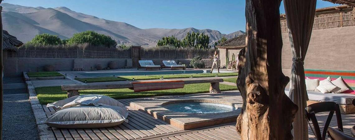 piscina hotel atacama dunas